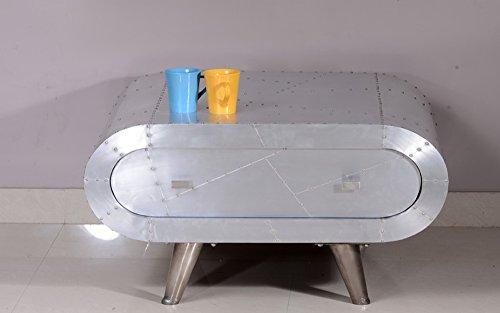 Excl baidani designer couchtisch metal 80 x 80 cm for Designer couchtisch alu