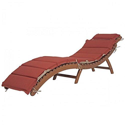 m bel24 m bel g nstig faltliege nassau mit auflage 184 l sonnenliege gartenliege liege holz. Black Bedroom Furniture Sets. Home Design Ideas