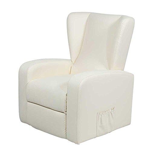 fernsehsessel mit massagefunktion elfenbeinfarben pharao24. Black Bedroom Furniture Sets. Home Design Ideas