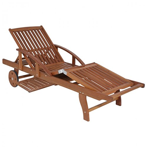 garden pleasure sonnenliege eukalyptus holz sunlounger garten liege holzliege relaxliege m bel24. Black Bedroom Furniture Sets. Home Design Ideas
