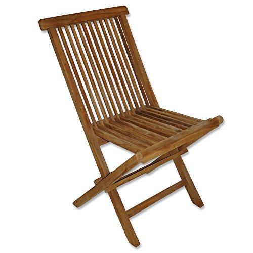 m bel24 m bel g nstig garten teak klappstuhl teak stuhl. Black Bedroom Furniture Sets. Home Design Ideas
