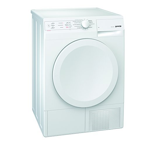 Gorenje D 624 Kondenstrockner / B / 411 kWh/Jahr / 6 kg / Reduzierte Trocknungstemperatur / Super trocken / weiß