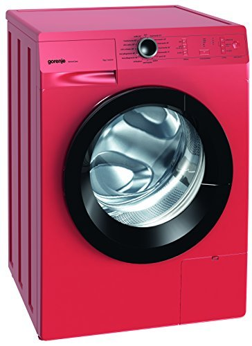 Gorenje W 7243 PR Waschmaschine FL / A+++ / 7 kg / 1400 UpM / feuerrot / AquaStop / SensoCare-Waschsystem / Quick 17 / Colour Collection