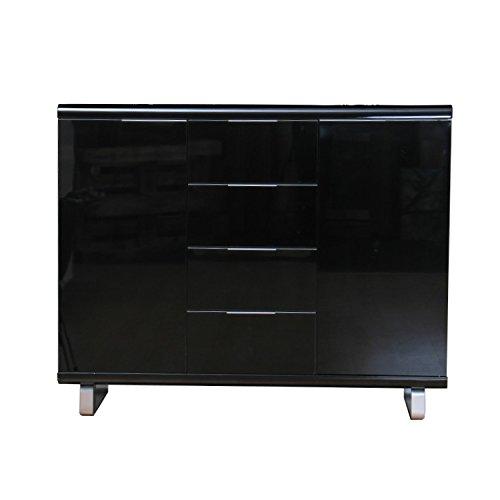 kommode schwarz hochglanz gunstig heimdesign innenarchitektur und m belideen. Black Bedroom Furniture Sets. Home Design Ideas