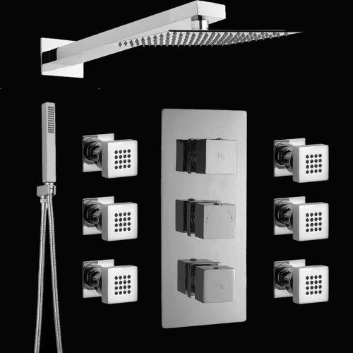 Duscharmatur Unterputz : , Handbrause & Thermostat Unterputz Duscharmatur ? Verchromt ? S