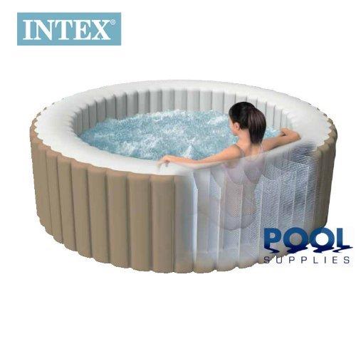 Intex Pure Spa Whirlpool de Luxe aufblasbar für 4Personen. Komplettset