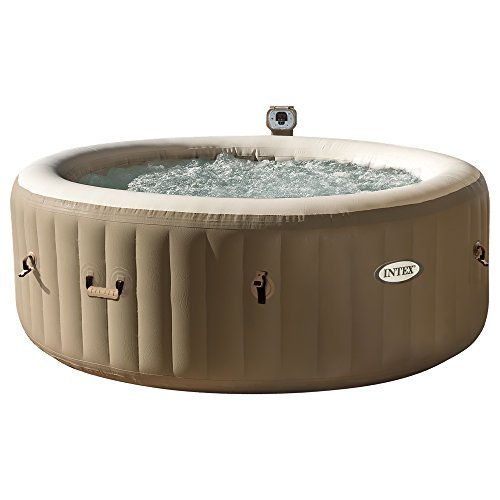 "Intex Whirlpool Pure SPA 77"" Bubble Massage, Braun, Ø 196 x 71cm"