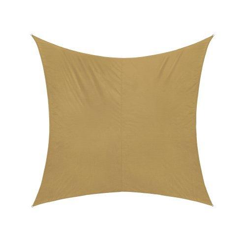 Jarolift Sonnensegel Quadrat wasserabweisend, 300 x 300 cm, sand