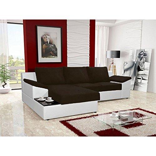 justhome atlanta ecksofa polsterecke schlafsofa. Black Bedroom Furniture Sets. Home Design Ideas