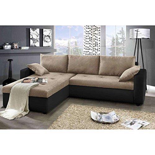 m bel24 m bel g nstig justhome focus ecksofa schlafsofa. Black Bedroom Furniture Sets. Home Design Ideas