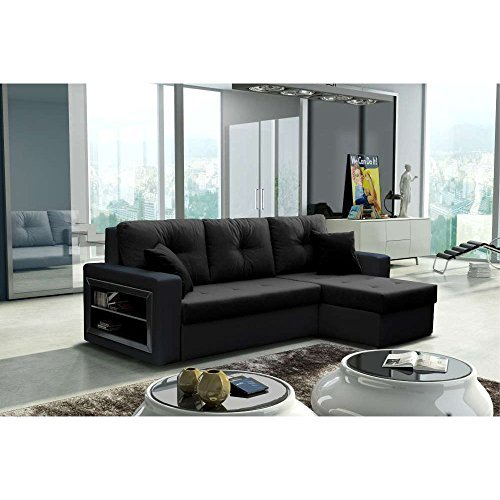 justhome forte ecksofa polsterecke schlafsofa. Black Bedroom Furniture Sets. Home Design Ideas