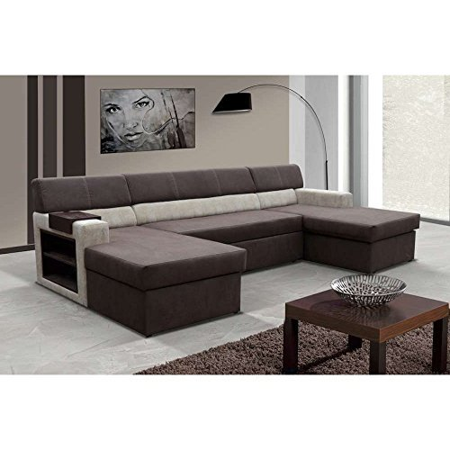 justhome markos wohnlandschaft couchgarnitur polsterecke. Black Bedroom Furniture Sets. Home Design Ideas