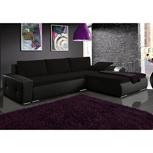 justyou picanto mini ecksofa polsterecke schlafsofa stoffbezug kunstleder bxlxh 263x173x85 cm. Black Bedroom Furniture Sets. Home Design Ideas