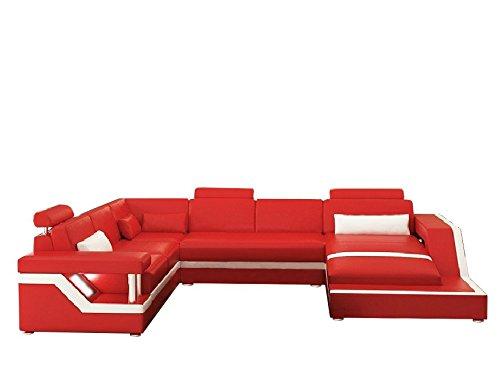 Wohnzimmer archive seite 4 von 6 m bel24 m bel g nstig for Wohnlandschaft rot schwarz