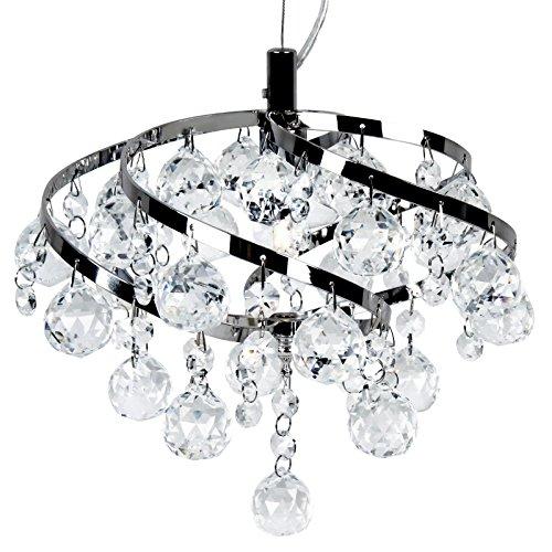 jago a e deckenleuchte kristalleuchte kronleuchter mit runden und tropfenf rmigen kristalen. Black Bedroom Furniture Sets. Home Design Ideas