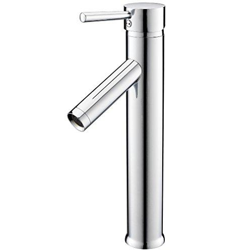 kinse modern hoch auslauf flexible wasserhahn armatur waschsch ssel f r badezimmer m bel24. Black Bedroom Furniture Sets. Home Design Ideas