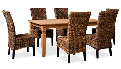 kmh esszimmer sitzgruppe tischgruppe corona banana. Black Bedroom Furniture Sets. Home Design Ideas