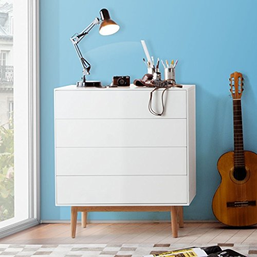 dasm belwerk tv lowboard malm sideboard weiss modern. Black Bedroom Furniture Sets. Home Design Ideas