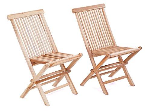 klappstuhl aus teak holz 2er set von maco gartenstuhl teakstuhl holzstuhl m bel24 m bel g nstig. Black Bedroom Furniture Sets. Home Design Ideas