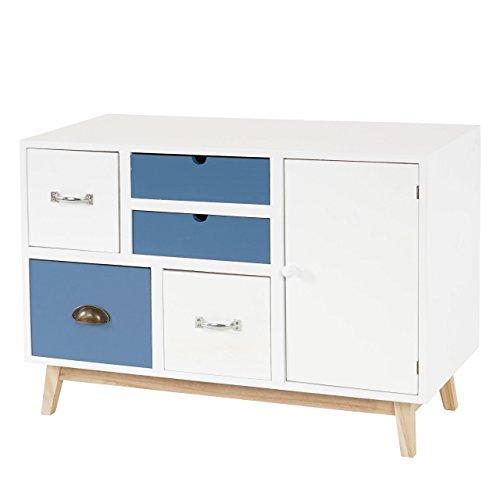 mendler kommode malm t273 sideboard schubladenkommode schrank patchwork retro design. Black Bedroom Furniture Sets. Home Design Ideas