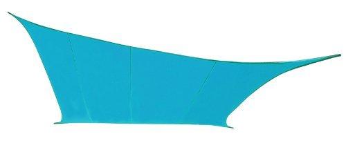 Kookaburra-54m-Quadrat-Azurblau-Gewebtes-Sonnensegel-Wasserfest-0