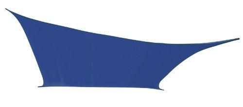 Kookaburra Wasserfest Sonnensegel 5,4m Quadrat Blau