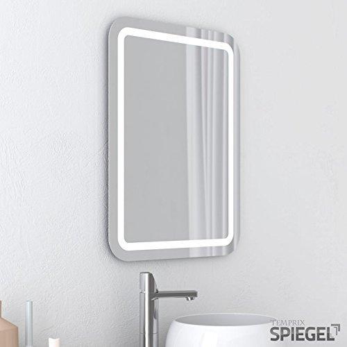 Led badspiegel beleuchtet perfekt badezimmerspiegel mit beleuchtung 80 x 60 cm m bel24 m bel - Badezimmerspiegel mit beleuchtung gunstig ...