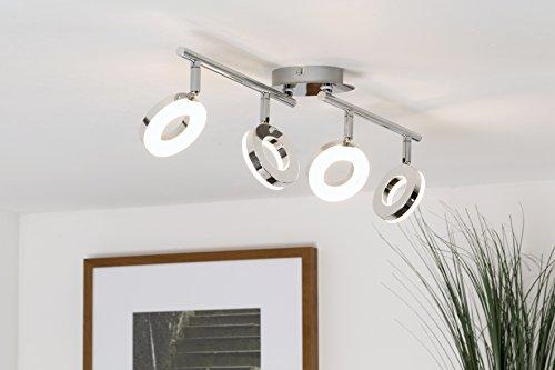 wohnzimmerlampen dimmbar:LED-Deckenleuchte / Deckenstrahler / Spotleuchte / LED 4 x 4 Watt / 4