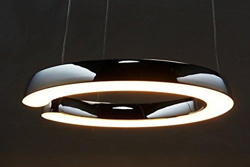 Höhenverstellbare LED Design HÄNGELEUCHTE THE C / stilvoll und elegant / Blickfang für Ihr Zuhause