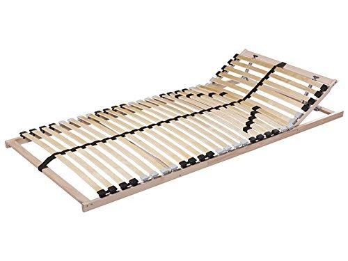 LIVARNO 7-Zonen-Lattenrost 90 x 200 cm mit Härtegradverstellung Hoher Liegekomfort