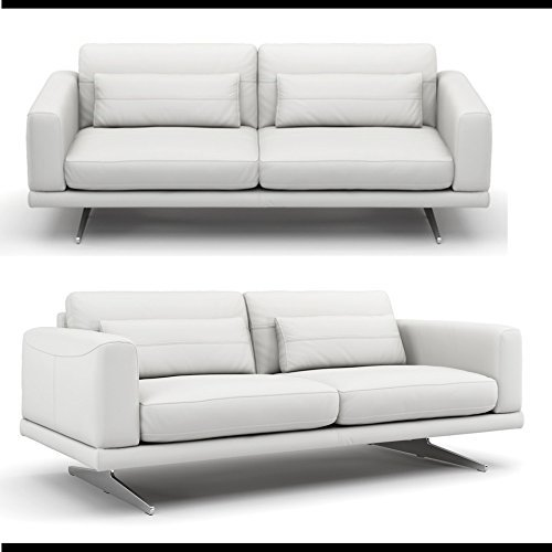 Leder sofa couch sofagarnitur couchgarnitur for Sofagarnitur leder