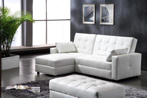 lederfaserstoff ecksofa eckcouch mit schlaffunktion und. Black Bedroom Furniture Sets. Home Design Ideas