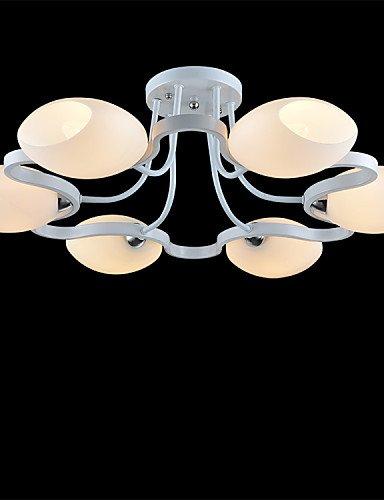 Ling@ Kronleuchter - Inklusive Glühbirne - Traditionell-Klassisch - Wohnzimmer/Schlafzimmer/Esszimmer/Studierzimmer/Büro/Kinderzimmer(FL) , warm white-220-240v
