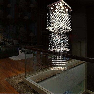 Ling@ Kronleuchter - Kristall/LED - Zeitgenössisch/Traditionell-Klassisch/Rustikal/ Ländlich/Tiffany/Vintage/Rustikal/Insel - , Cold White-220-240V
