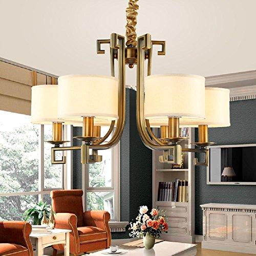 Ling@ Modernes, schlichtes Led Projekt Lampe moderne Empfangshalle Kronleuchter westlichen Stil Wohnzimmer Schlafzimmer Esszimmer Licht , 8 head