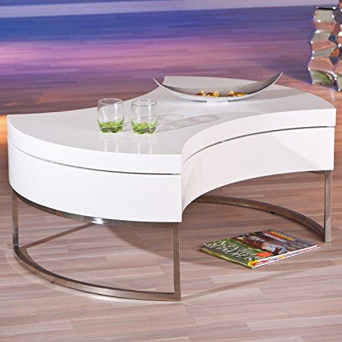 inter link 20800890 couchtisch wei hochglanz. Black Bedroom Furniture Sets. Home Design Ideas