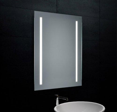 lux aqua design wand lichtspiegel badezimmerspiegel led beleuchtung mf6812l m bel24. Black Bedroom Furniture Sets. Home Design Ideas