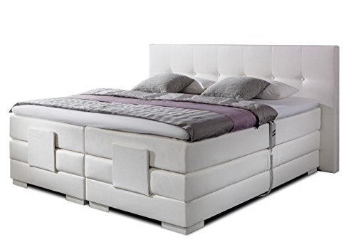 belvandeo i luxus boxspringbett nizza elektrisch. Black Bedroom Furniture Sets. Home Design Ideas