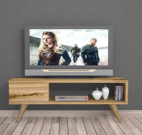 homidea inca tv lowboard natur holzfarbe tv board fernsehtisch in elegantem design m bel24. Black Bedroom Furniture Sets. Home Design Ideas