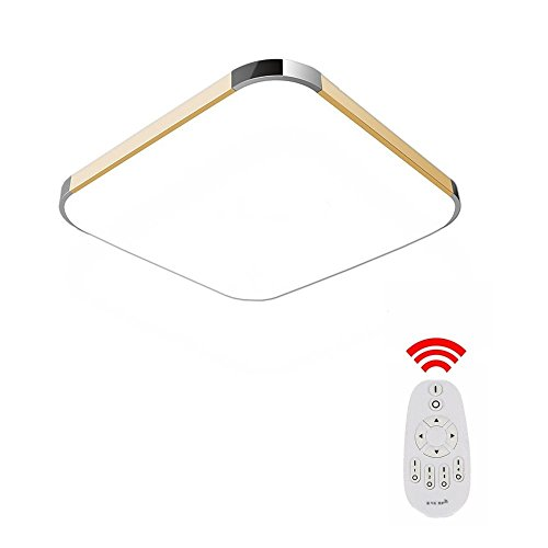 Mctech 36w dimmbar led deckenleuchte modern deckenlampe flur wohnzimmer lampe schlafzimmer ac - Wohnzimmerlampen led dimmbar ...