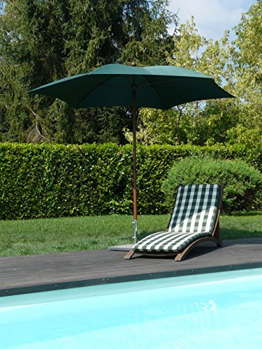 maffei art 66 madera sechseckiger sonnenschirm durchmesser cm 280 aus stoff polyma gestell. Black Bedroom Furniture Sets. Home Design Ideas