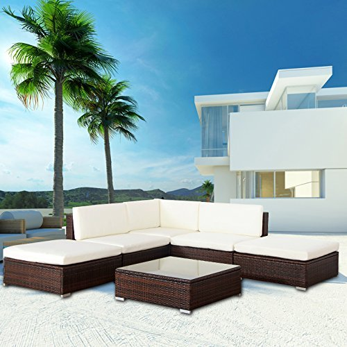 m bel24 m bel g nstig mali poly rattan lounge braun. Black Bedroom Furniture Sets. Home Design Ideas