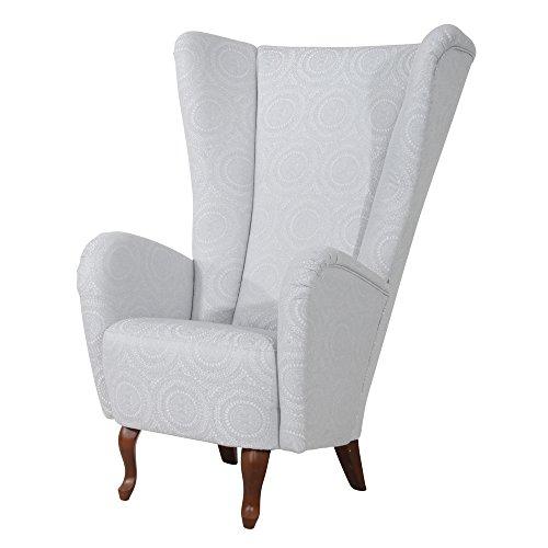 max winzer sessel aurora flachgewebe silber m bel24 m bel g nstig. Black Bedroom Furniture Sets. Home Design Ideas