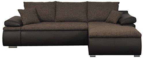 Mein sofa clsoft19 eckgarnitur cali mit schlaffunktion und for Eckgarnitur mit schlaffunktion und bettkasten