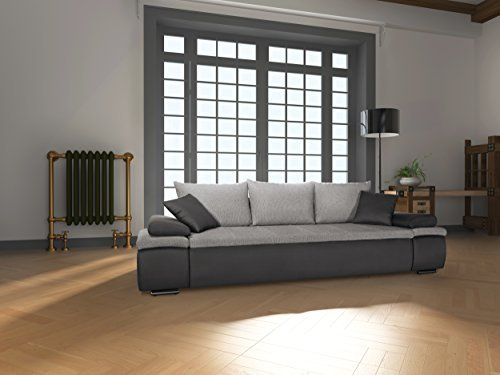 mein sofa crd2 schlafsofa cali 3dl 3er sofa mit schlaffunktion und bettkasten circa 277 x 85 x. Black Bedroom Furniture Sets. Home Design Ideas