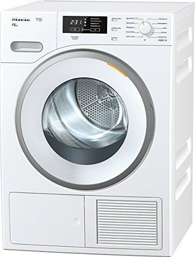 Miele TMB640WP D LW Eco Wärmepumpentrockner/A++/8 kg/Lotosweiß/Punktgenaue Trocknung für alle Textilien -PerfectDry/Duftende Wäsche/Fragrance Dos
