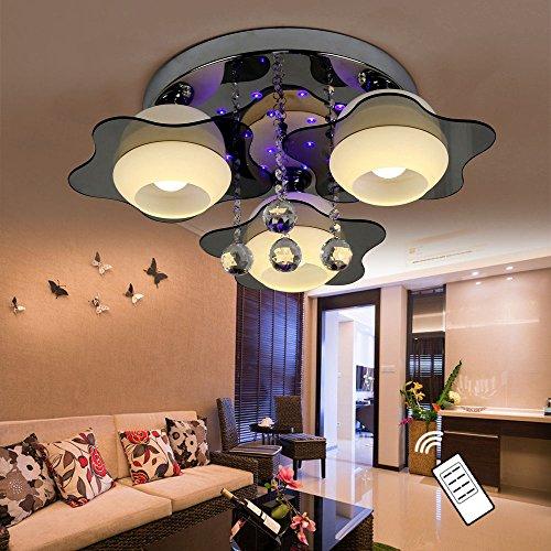 Natsen led kristall deckenleuchte deckenlampe designer for Deckenleuchte wohnzimmer e27
