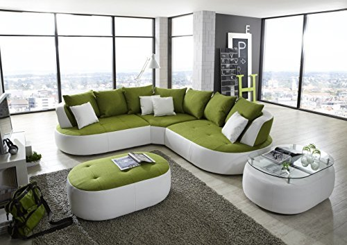 New Look Trendmanufaktur Design Loungesofa Wohnlandschaft Couch Ecksofa BALI A