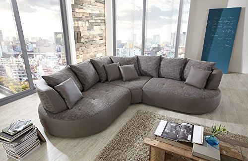 New Look Trendmanufaktur Design Loungesofa Wohnlandschaft Couch Ecksofa BALI B