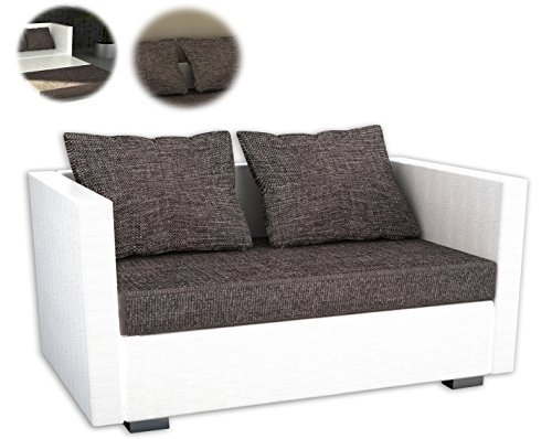 onux 2er couch kunstleder schlafsofa sofa mit schlaffunktion m bel24 m bel g nstig. Black Bedroom Furniture Sets. Home Design Ideas